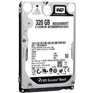 320 GB Bulk/OEM Notebook Hard Drive
